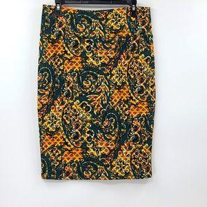 Lularoe Cassie pencil skirt. Women's size medium